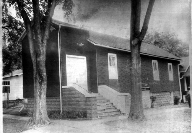 Bethel AME Exterior - Back in the day
